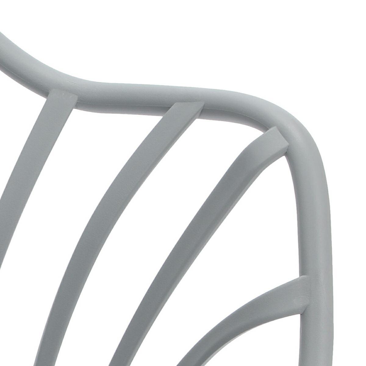 Krzesło Sirena z podłokietnikami szare - zdjęcie nr 16