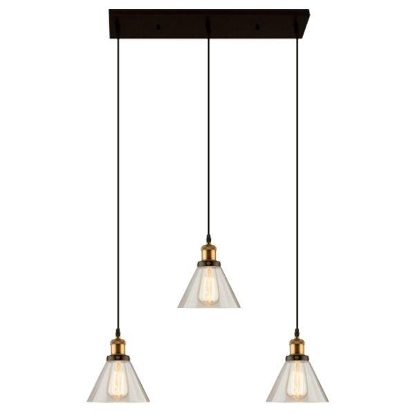 Závěsné svítidlo Altavola Design New York Loft 1 transparentní