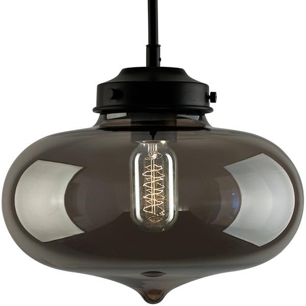 Závěsné svítidlo Altavola Design London Loft 1 CL kouřové