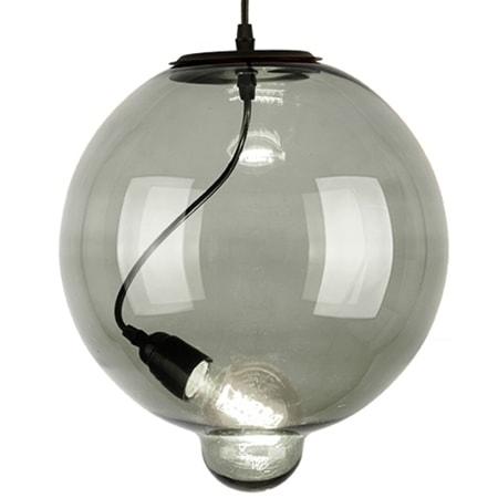 Závěsné svítidlo Altavola Design Modern Glass Bubble kouřové