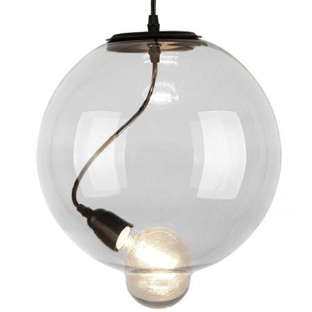 Závěsné svítidlo Altavola Design Modern Glass Bubble transparentní