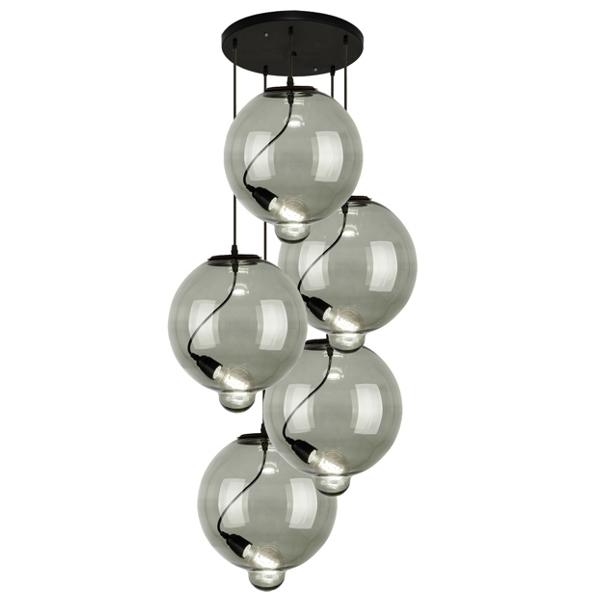 Modern Glass Bubble CO – żyrandol - zdjęcie nr 0