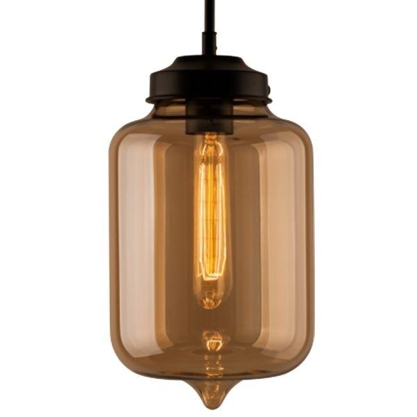 Závěsné svítidlo Altavola Design London Loft 2 CL jantarové