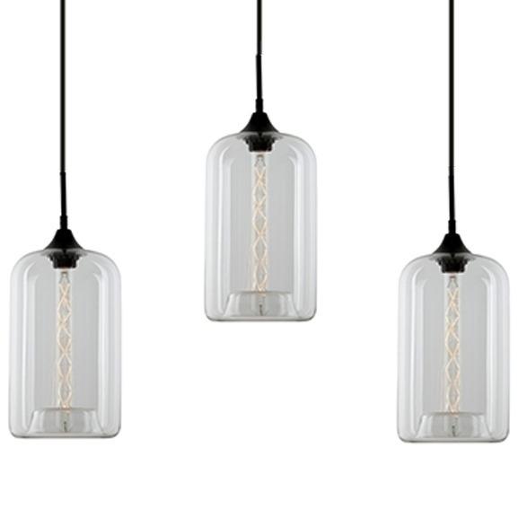 Závěsné svítidlo Altavola Design London Loft 4 CL