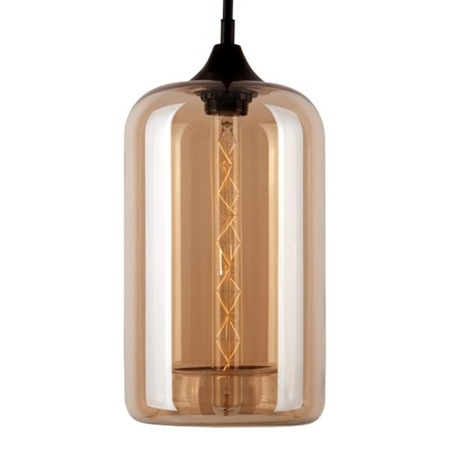 Závěsné svítidlo Altavola Design London Loft 4 jantarové