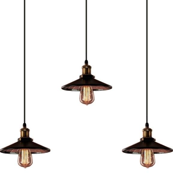 Závěsné svítidlo Altavola Design Eindhoven Loft 3 CL