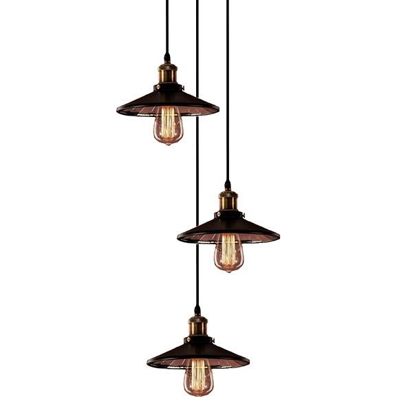 Závěsné svítidlo Altavola Design Eindhoven Loft 3 CO