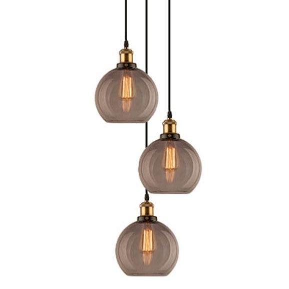 Závěsné svítidlo Altavola Design New York Loft 2 CO kouřové
