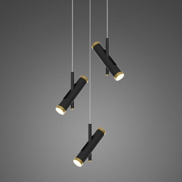 Lampa wisząca LUNETTE No. 3 czarna - zdjęcie nr 4