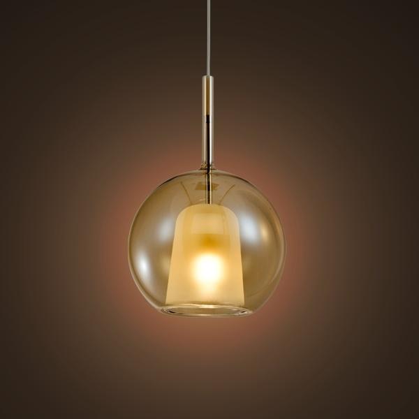 Lampa wisząca EUFORIA No. 1 16cm burszty nowa - zdjęcie nr 1