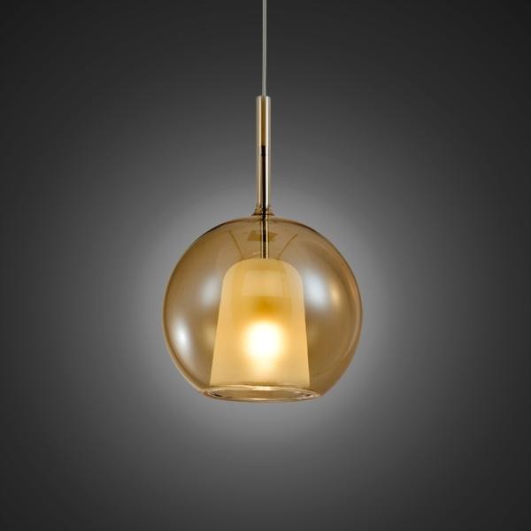 Lampa wisząca EUFORIA No. 1 16cm burszty nowa - zdjęcie nr 2