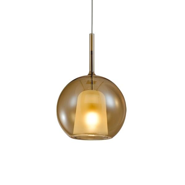Lampa wisząca EUFORIA No. 1 16cm burszty nowa - zdjęcie nr 0