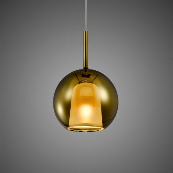 Lampa wisząca EUFORIA No. 1 16cm złota - zdjęcie nr 2