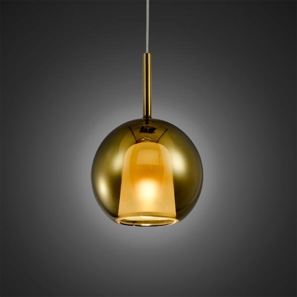 Lampa wisząca EUFORIA No. 1 16cm złota - zdjęcie nr 3