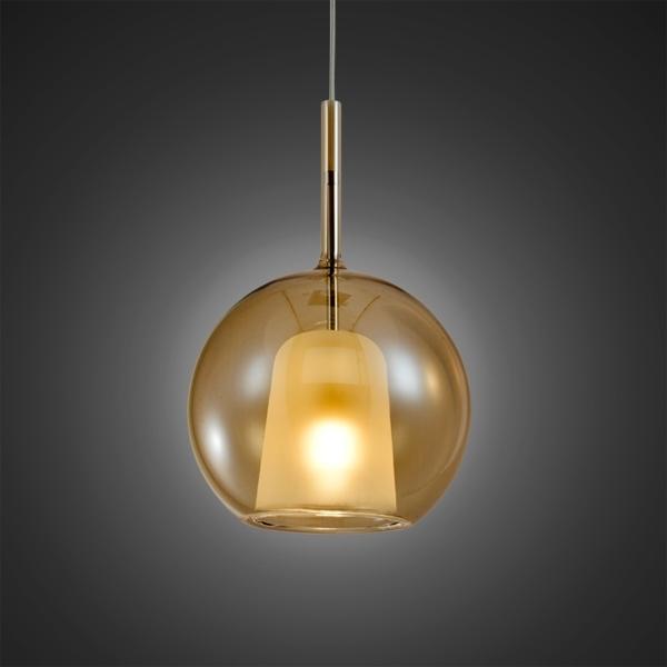 Lampa wisząca EUFORIA No. 1 20cm burszty nowa - zdjęcie nr 1