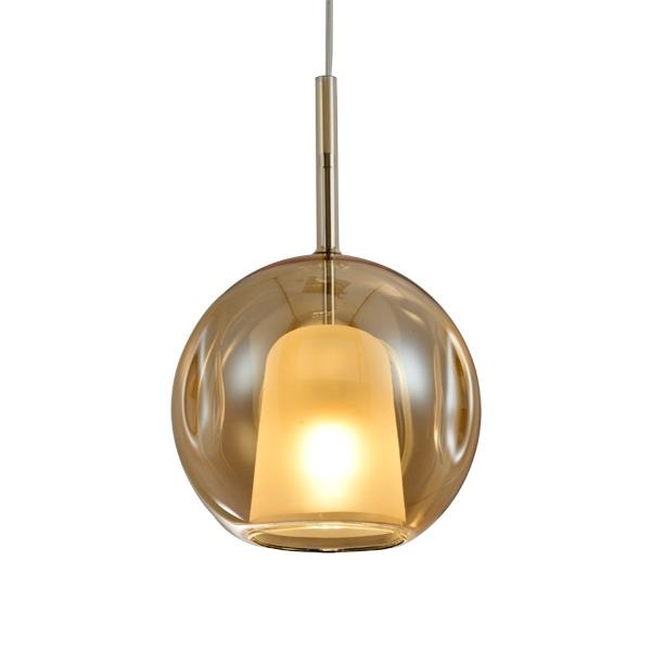 Lampa wisząca EUFORIA No. 2 25cm burszty nowa - zdjęcie nr 0