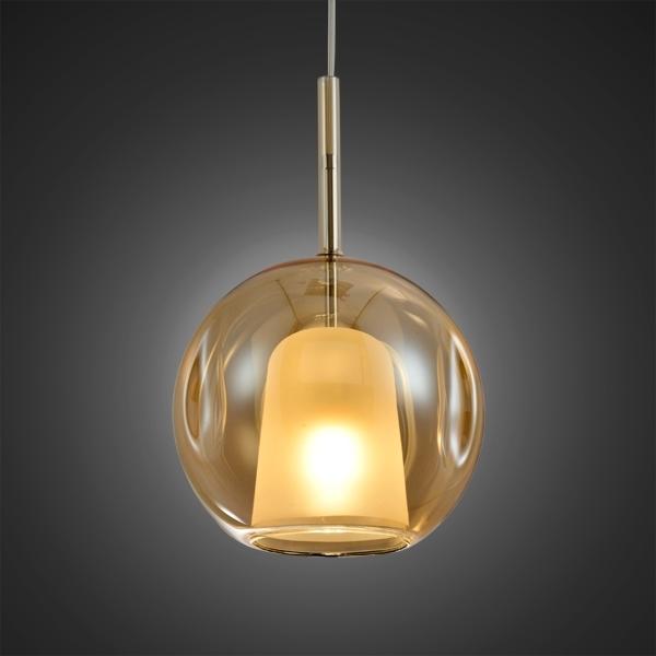 Lampa wisząca EUFORIA No. 2 25cm burszty nowa - zdjęcie nr 1