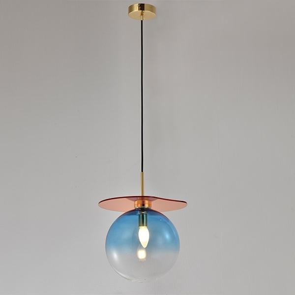 Lampa wisząca MADEMOISELLE niebieska - zdjęcie nr 0