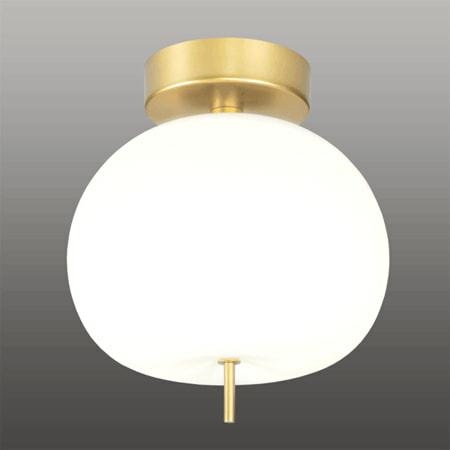 Stropní LED svítidlo Altavola Design APPLE CE bílo zlaté