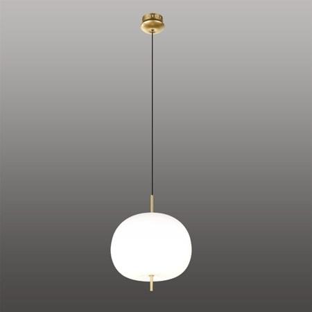 Závěsné LED svítidlo Altavola Design APPLE bílo zlaté