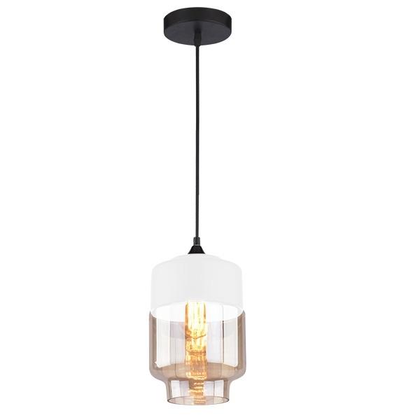 Závěsné svítidlo Altavola Design Manhattan Chic 2 bílo jantarové