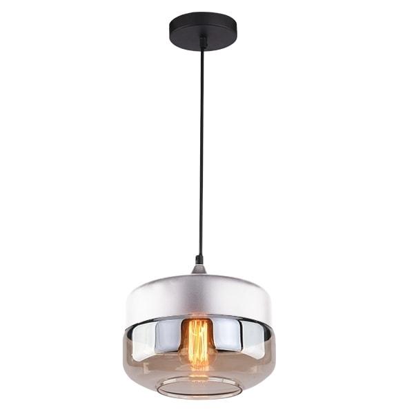 Závěsné svítidlo Altavola Design Manhattan Chic 3 bílo jantarové