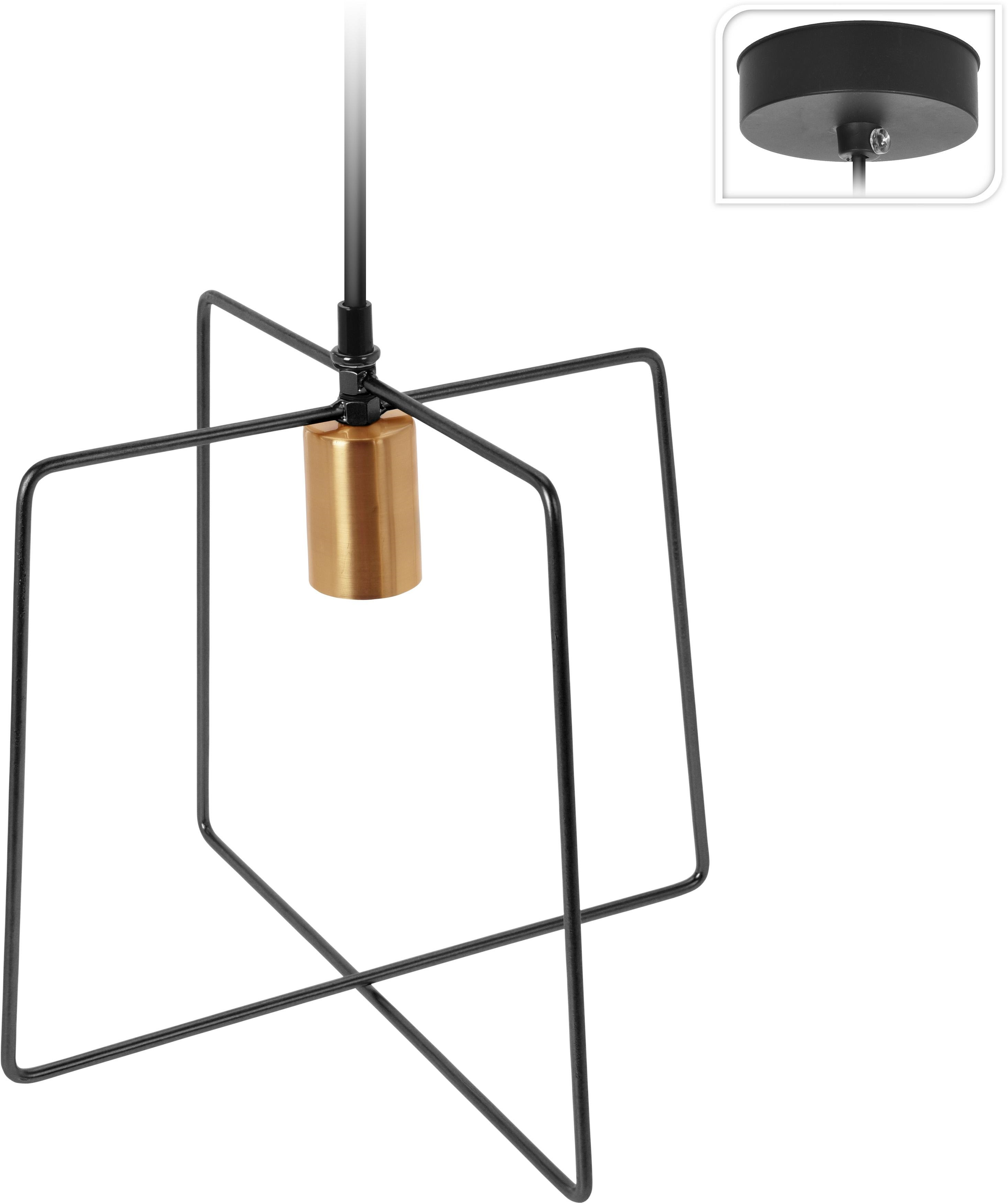 Lampa wisząca Gemo Intesi czarna - zdjęcie nr 0