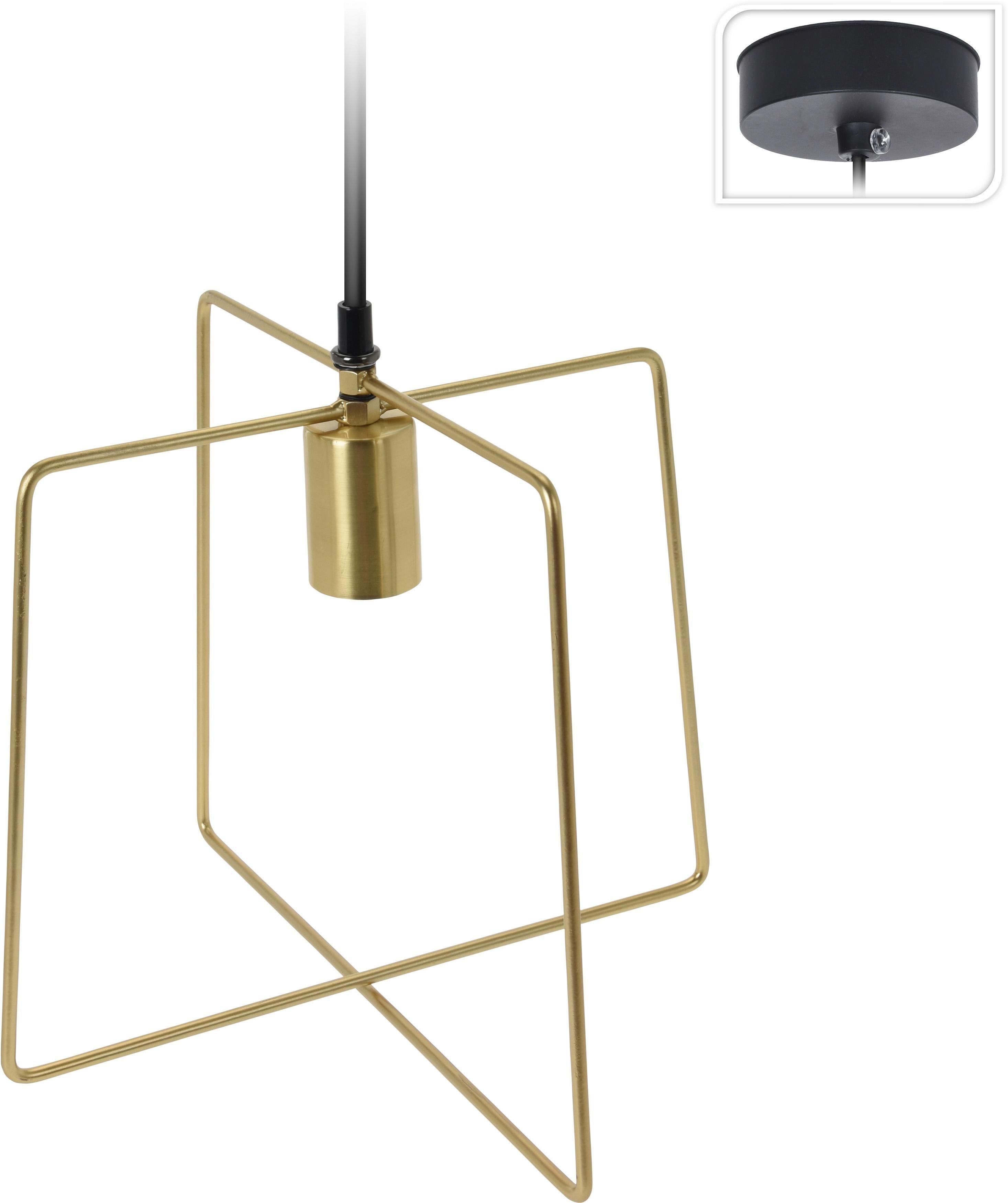 Lampa wisząca Gemo Intesi złota - zdjęcie nr 0