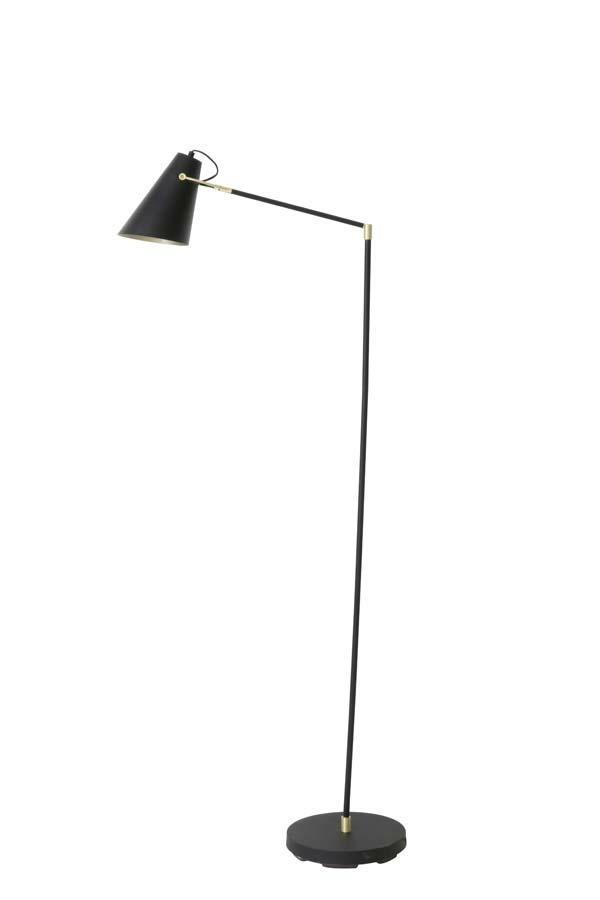 Stojací lampa Borre černá