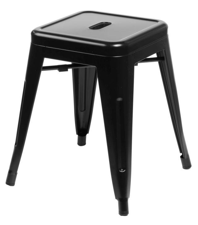 Stolička D2 Paris černá 46 cm