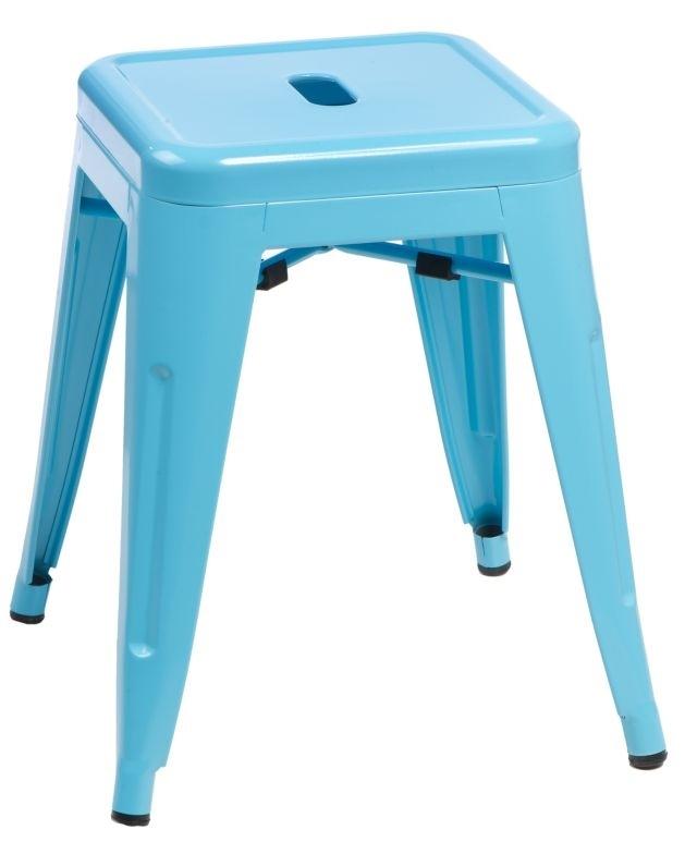 Stolička D2 Paris modrá 46 cm