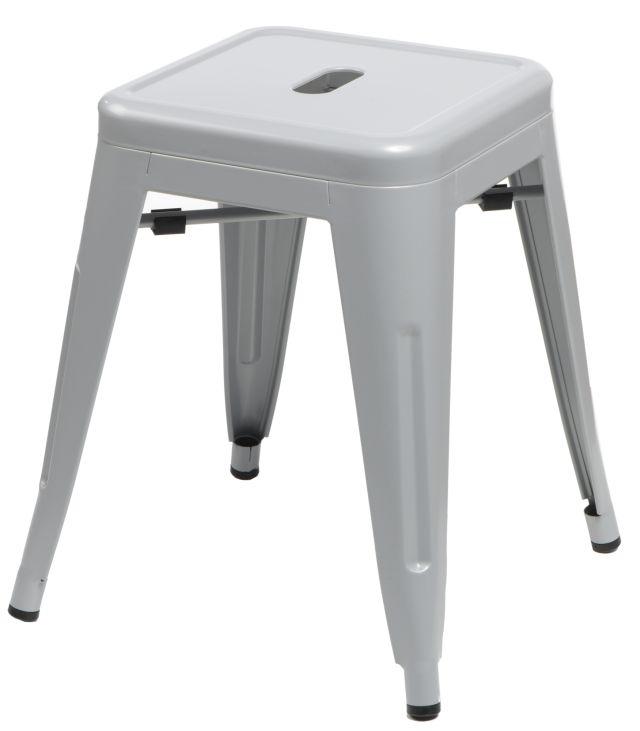 Stolička D2 Paris šedá 46 cm