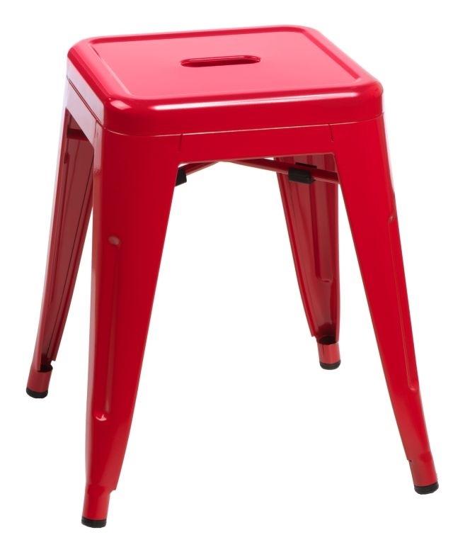 Stolička D2 Paris červená 46 cm