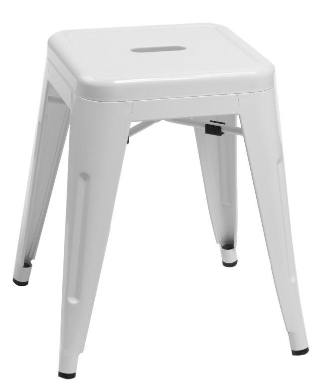 Stolička D2 Paris bílá 46 cm