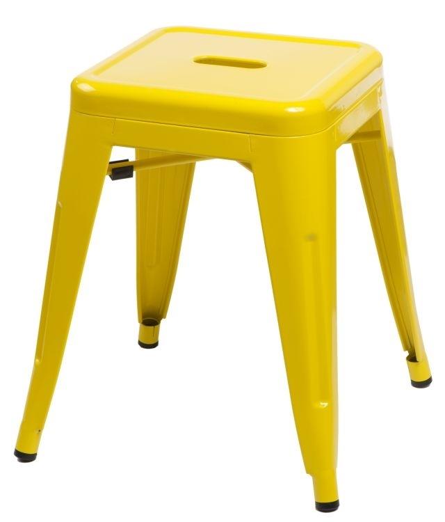 Stolička D2 Paris žlutá 46 cm