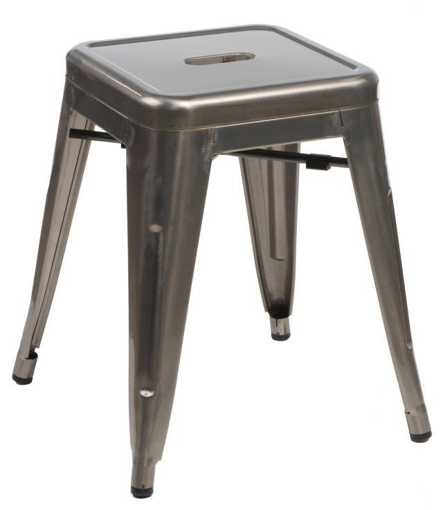 Stolička D2 Paris metalická 46 cm