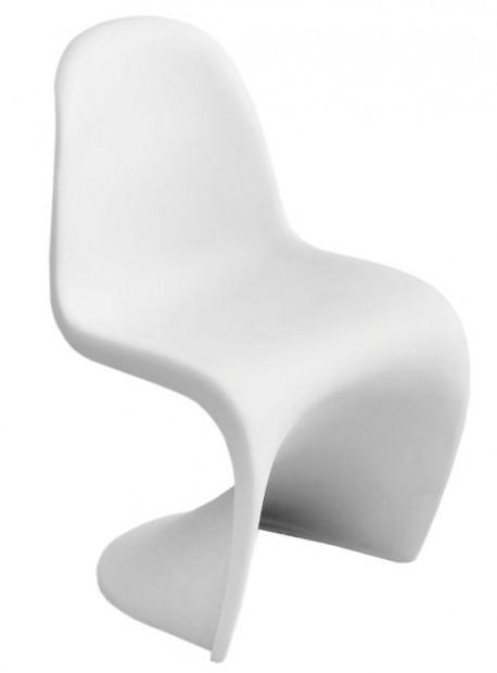 Dětská židle Blanc Junior bílá