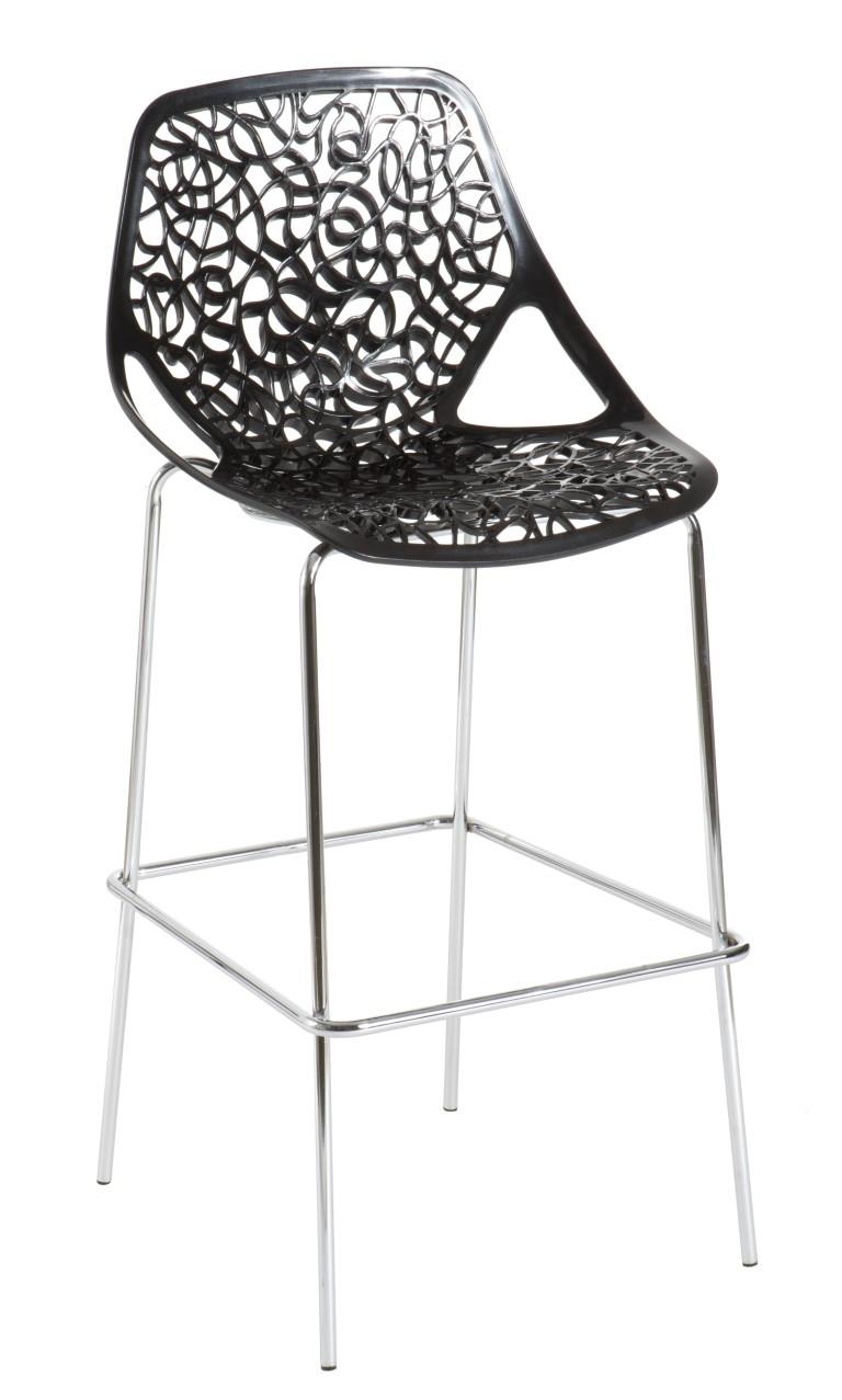 Barová židle Cepelia černá