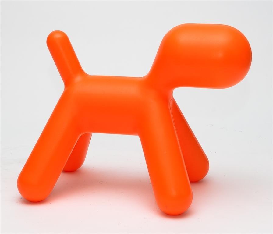 Dětská stolička Pes oranžový