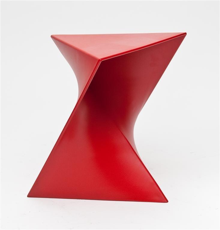 Konferenční stolek Zed červený