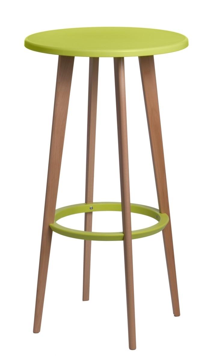 Barová stolička Lash zelená