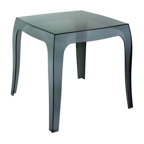Konferenční stolek Duch černý transparentní