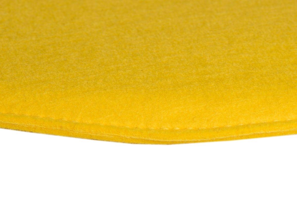 Poduszka na krzesło Side Chair żółta - zdjęcie nr 4