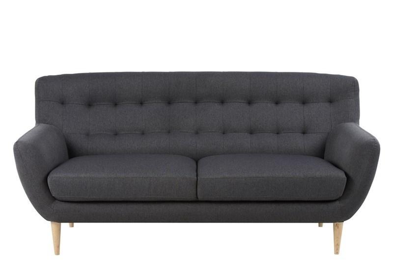 Sofa 3 osobowa Oswald szara ciemna - zdjęcie nr 0