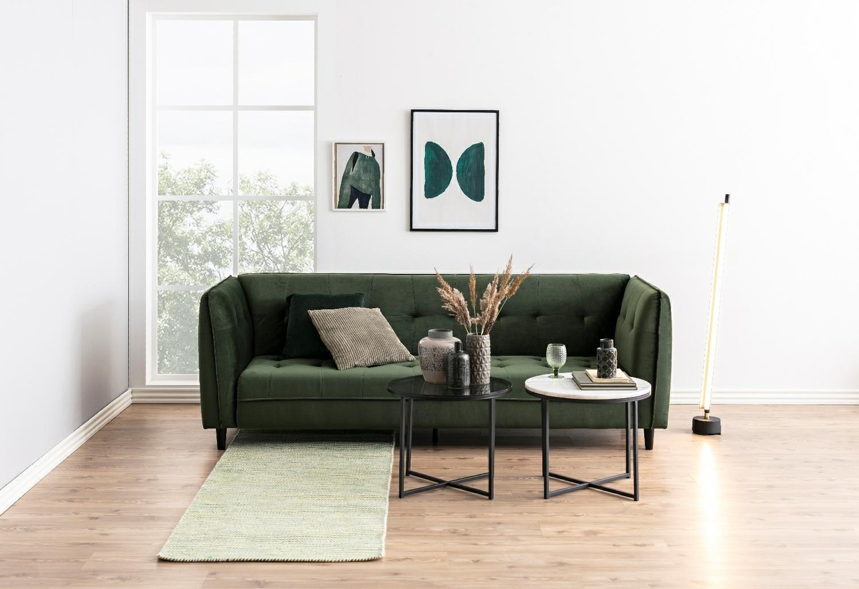 Sofa rozkładana Jonna Velvet Forest Gree n - zdjęcie nr 7