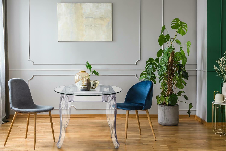 Stół Ghost 80cm transparentny - zdjęcie nr 7