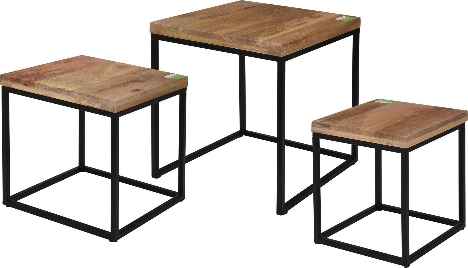 Zestaw stolików Mango Wood Intesi - zdjęcie nr 0