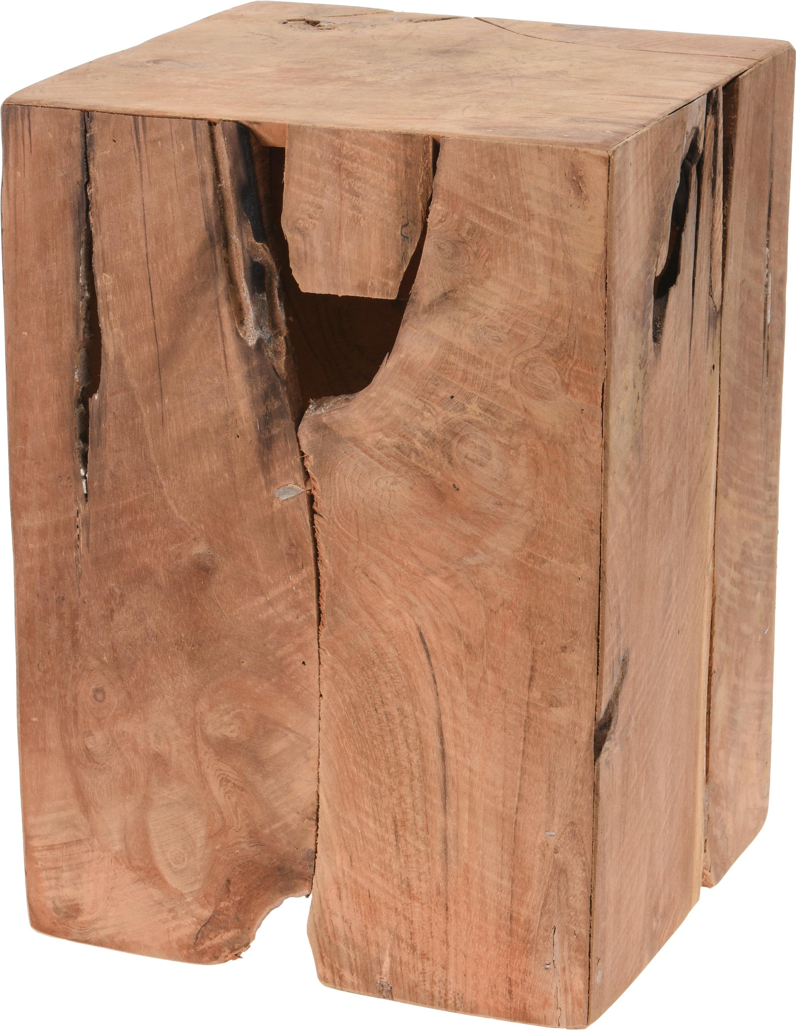 Stolik Knut drewno tekowe - zdjęcie nr 0